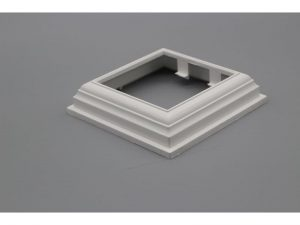 PVC Fencing Base Cover