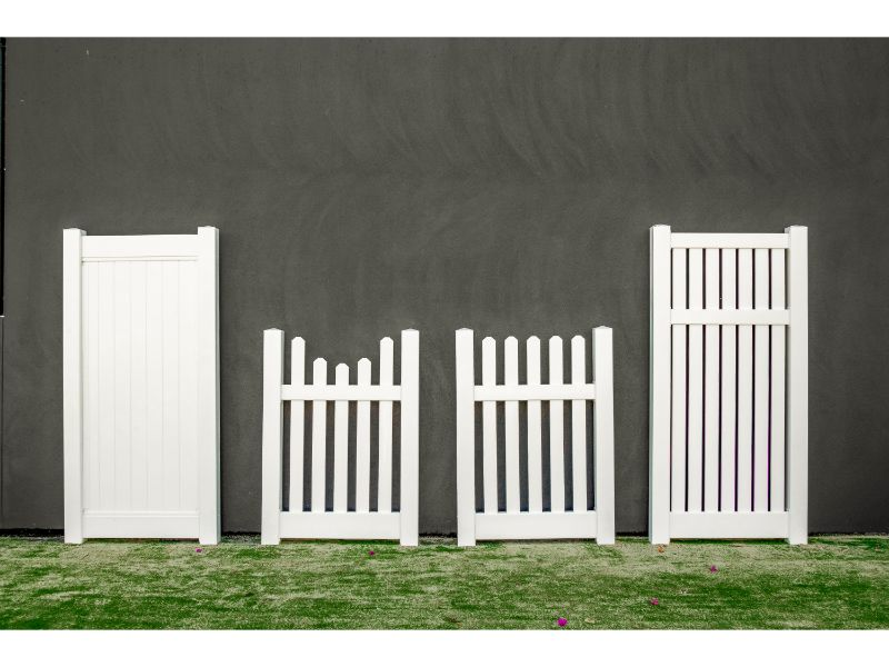 PVC Fencing Accessories Gate Style